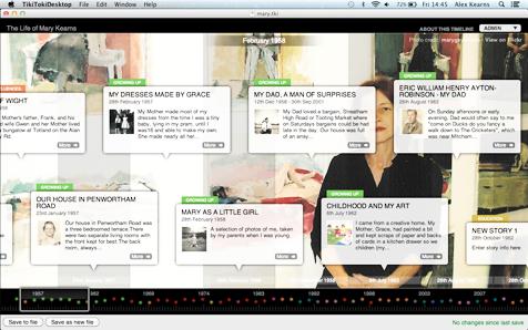 Desktop Timeline Software for Mac OSX, Windows and ChromeBooks