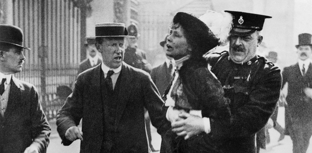 Emmeline Pankhurst - a great subject for a timeline